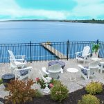 Bay Port Village Midland Ontario Home For Sale backyard View of Georgian Bay