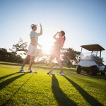 Golfing In Midland Bay Port Ontario Canada