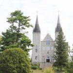 Midland Bayport Martyr Shrine In Ontario Canada